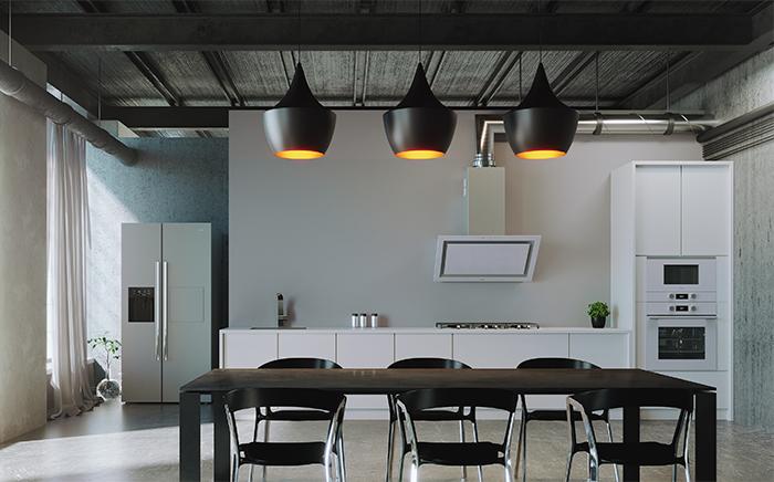 Open-concept kitchens