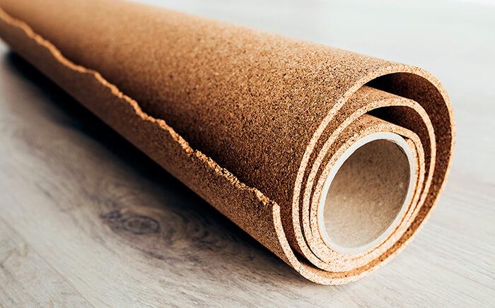 materials kitchen cork