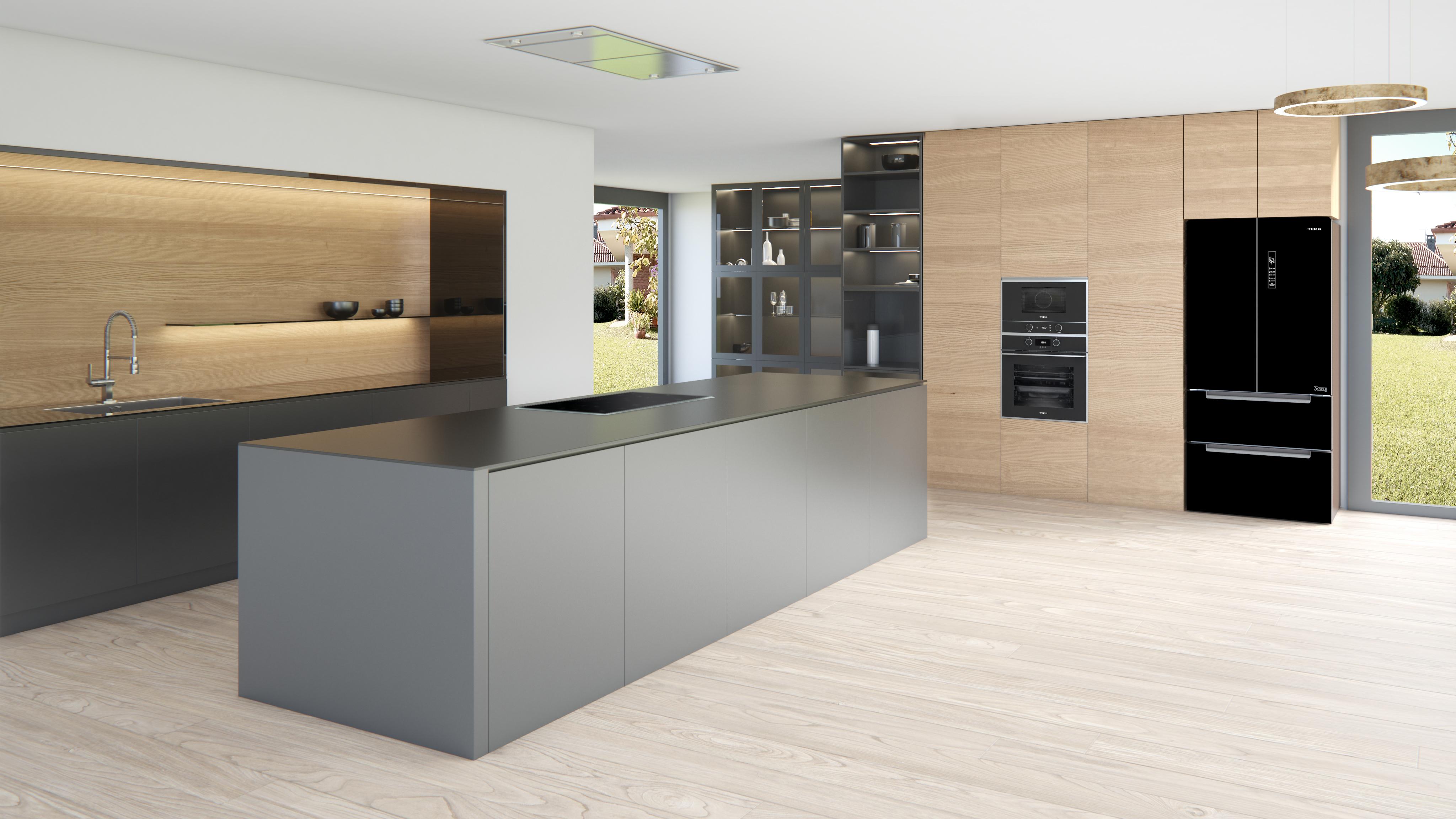 Open-concept kitchens: 5 trend  Teka Estonia