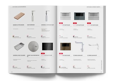 Kitchen accessories catalogue