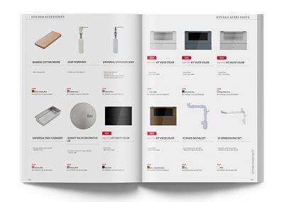 Kitchen accessories catalogue