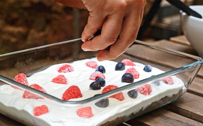 ice yogurt cake
