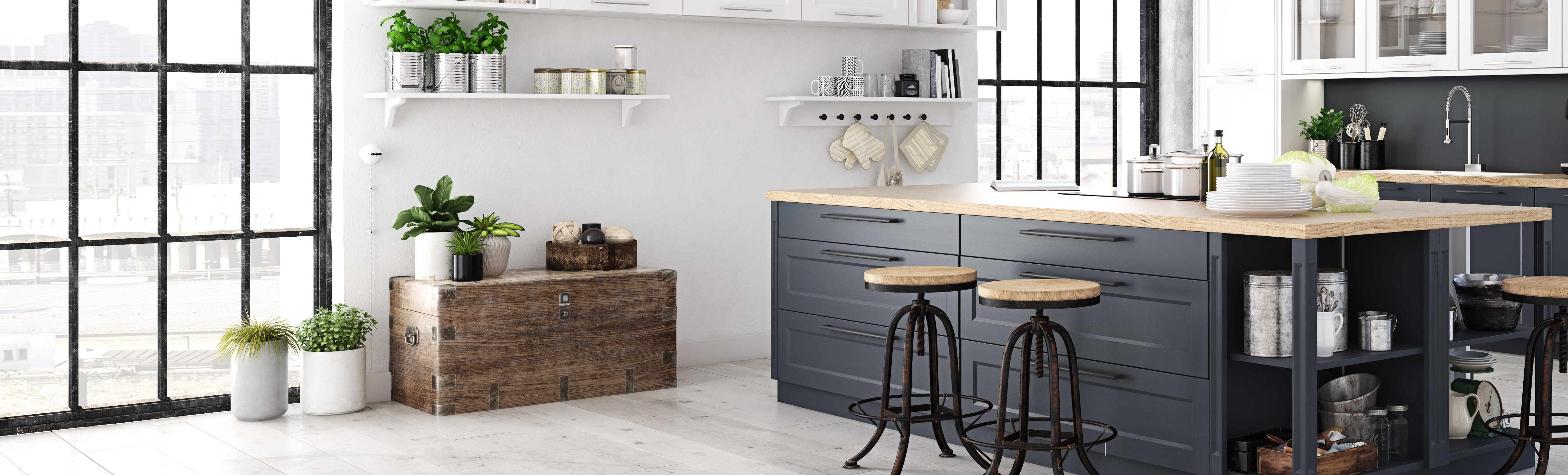 Nordic Style Kitchen Greater Sense Of Order And Cleanliness