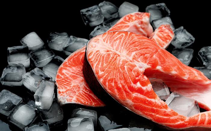 como congelar pescado