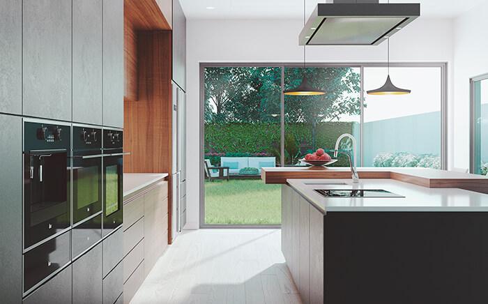 diseño cocinas eficientes