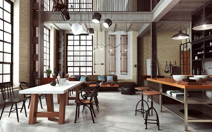 cocina diseño industrial