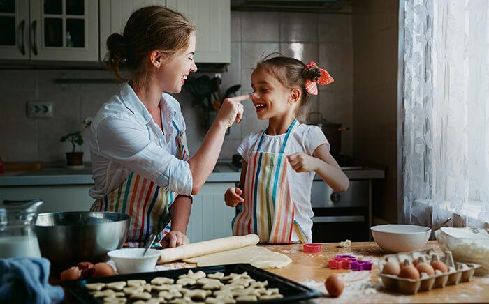 cocinar familia salud