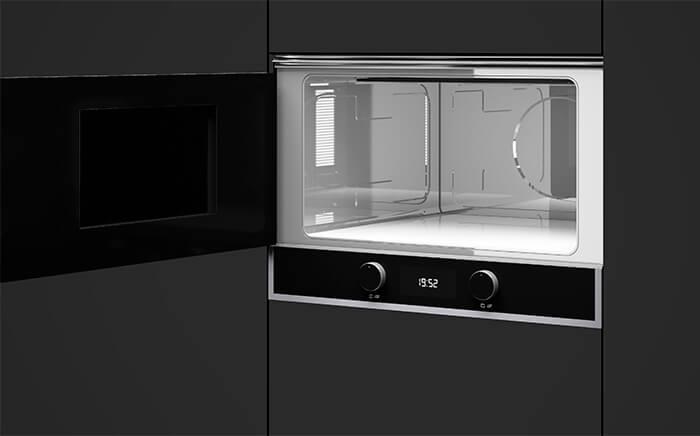 cómo limpiar horno microondas