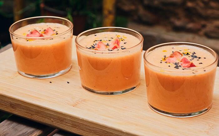 gazpacho cerezas