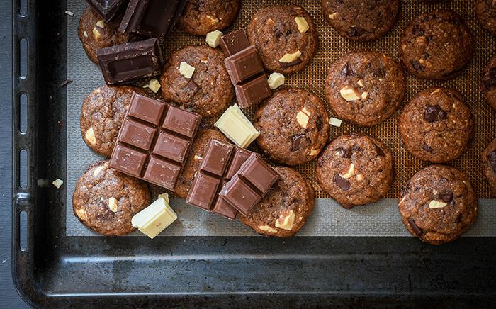 cookies tres chocolates