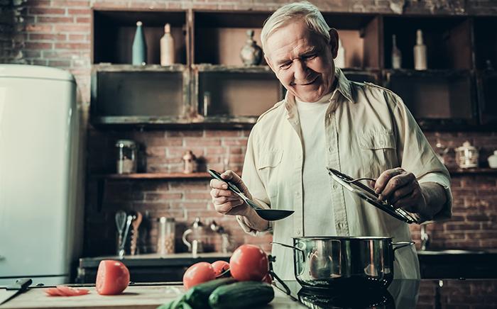 cocinar después de los 60