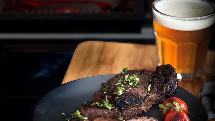 carne con cerveza