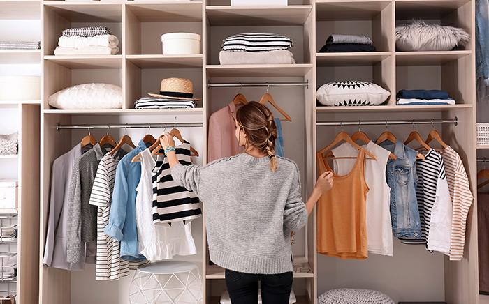cambio ropa armario