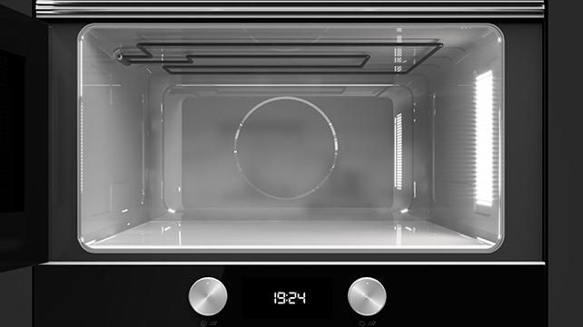 Función microondas + grill