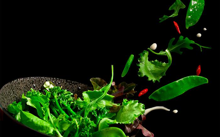 técnica escaldado verduras