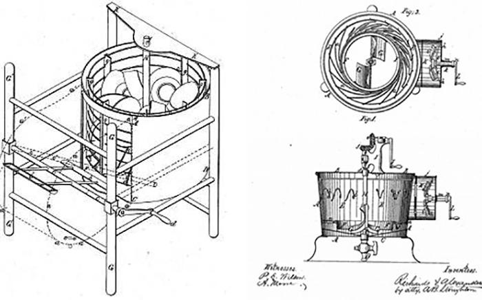 planos primer prototipo de lavavajillas