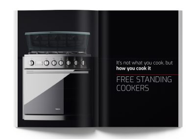 Free Standing Cookers Catalogue