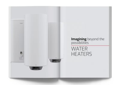 Water heaters catalogue