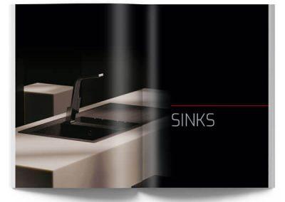 Sinks catalogue