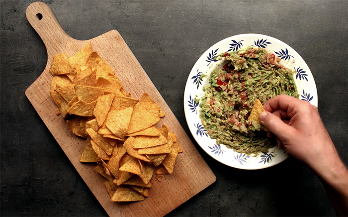 cheese guacamole nachos recipe fast food at home