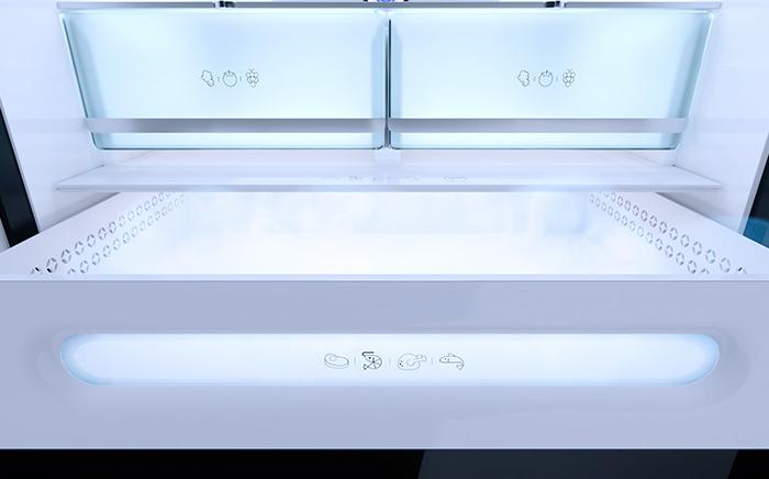 lower drawers fridge