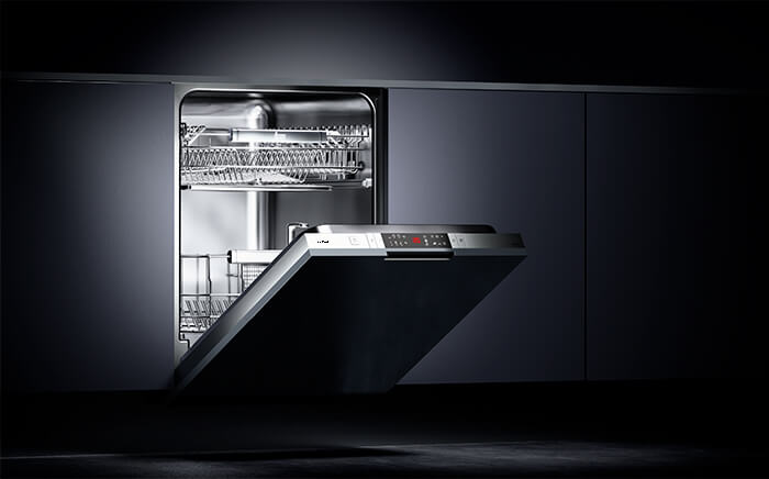 Choose the dishwasher