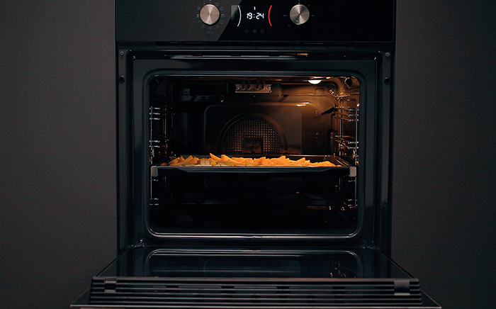 Frying in the oven