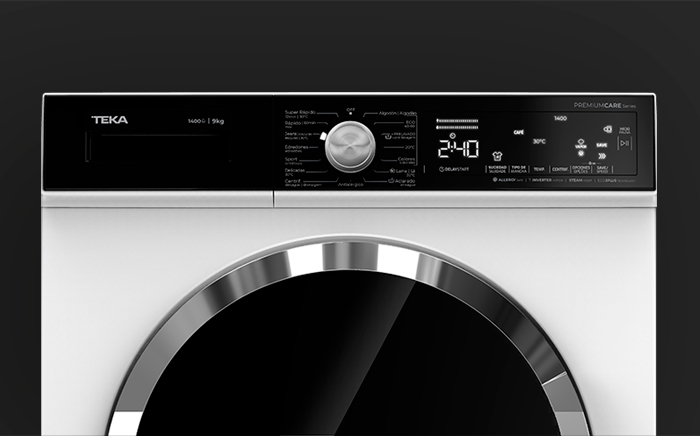 Programming the washer
