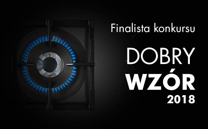 Linia płyt indukcyjno-gazowych TWIN finalistą konkursu Dobry Wzór 2018