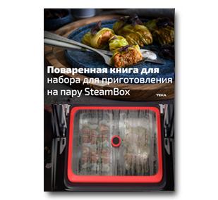 Книга рецептов SteamBox